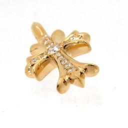 タイニー CH クロス 22K パヴェダイヤモンド
