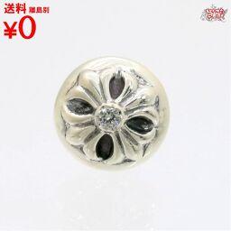 Crossball Stud Earrings After Diamond