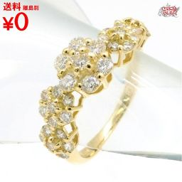 Flower diamond ring 0.80ct