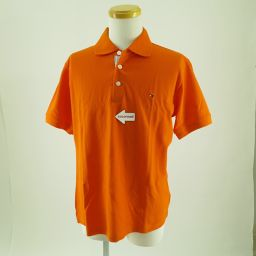 TOMMY HILFIGER(トミーヒルフィガー)ポロシャツ ワンポイント刺繍半袖ポロシャツ SizeL