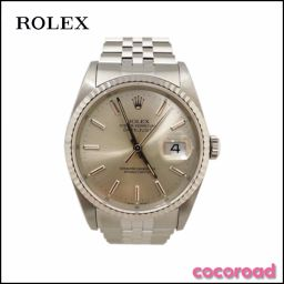 美 品 ROLEX (Rolex) Men's Watch Oyster Perpetual Datejust Ref 16234 X No. X, polished