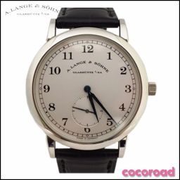 A. LANGE & SOHNE (LANGE & SOHNEY) Men's Watch 1815 Manual Winding PT 950 【Ce Nonoichi Store】