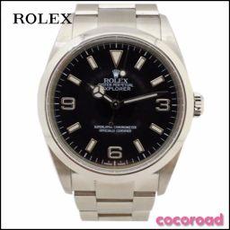 美品 ROLEX(ロレックス)メンズ腕時計 エクスプローラー1 Ref:114270 Y番(2002年製) SS