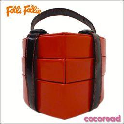 Folli Follie(フォリフォリ)ノベルティ ハート型 ジュエリーBOX(RED×BK) 【Ce野々市店】