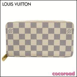 LOUIS VUITTON(ルイ・ヴィトン)長財布 ジッピー・ウォレット ダミエ・アズール N60019【Ce野