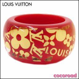 新品同様 LOUIS VUITTON(ルイ・ヴィトン)指輪 バーグトロピカルカクテル リング  赤  オレンジ