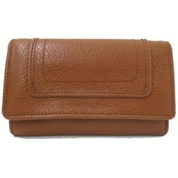 SEE BY CHLOE(シーバイクロエ)3つ折り財布 キャメル