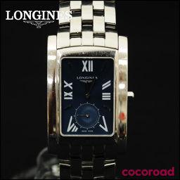 LONGINES(ロンジン)ドルチェヴィータ クォーツ 腕時計 ネイビー文字盤 メンズ L5.655.4[ce]【中古】