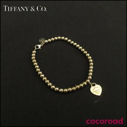 TIFFANY&Co.(ティファニー) リターン トゥ ミニ ハート タグ ビーズ ブレスレット AG925 S