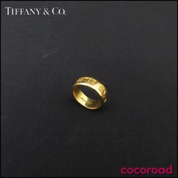 TIFFANY&Co.(ティファニー)指輪 アトラス リング K18YG Size#9 アトラス