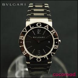 BVLGARI(ブルガリ)ブルガリブルガリ 腕時計 ブラック文字盤 BB26SS[ce]【中古】