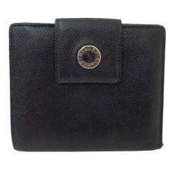 BVLGARI (Bvlgari) Bvlgari Bvlgari W Hook Folded Wallet Black