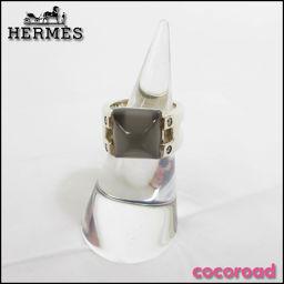 HERMES(エルメス)ムーンストーンダイヤリングSize#11[ce]【中古】