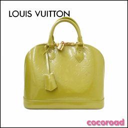 美品 LOUIS VUITTON(ルイ・ヴィトン)ハンドバッグ アルマPM  モノグラム・ヴェルニ M91615 PM