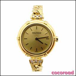WALTHAM(ウォルサム) ゴールド ジャパン 750 レディース腕時計 91590.183【Ce野々市店】