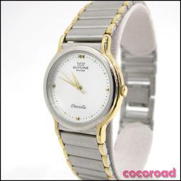 GLYCINE(グリシン)メンズ腕時計 クォーツ 白文字盤[ya]【中古】