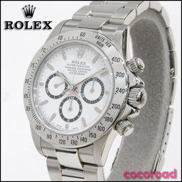 ROLEX(ロレックス)腕時計 ROLEX(ロレックス)コスモグラフデイトナ Ref.16520 A番 白文字盤