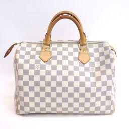 LOUIS VUITTON (Louis Vuitton) handbag speedy 30 mini Boston Damier Azur N41