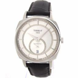 美品 TISSOT(ティソ)T-Lord T059528 SS×レザー 自動巻き メンズ腕時計
