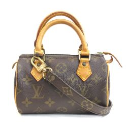 LOUIS VUITTON (Louis Vuitton) Mini Speedy Monogram M41534 2WAY Bag Handbag Shoulder Mini Boston Pochette diagonal hanging