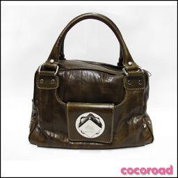 ETRO (Etoro) handbag 1A250 water cow leather [ya] [pre] *!