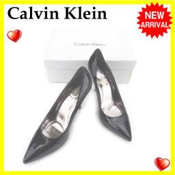 カルバンクライン Calvin Klein パンプス シューズ 靴 レディース ♯8ハーフM ハイヒール ポイン