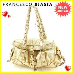 フランチェスコビアジア FRANCESCO BIASIA ショルダーバッグ  レディース  ビッフック ゴールド