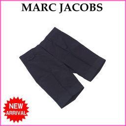 マークジェイコブス MARC JACOBS パンツ ハーフ丈 メンズ ♯44サイズ センタープレス チェック柄 グレー×ネイビー系 未使用品 人気 【新品】 C2971 .