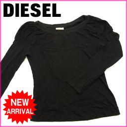 (激安・即納) ディーゼル/DIESEL/Tシャツ//ブラック/綿100% 【中古】 F315