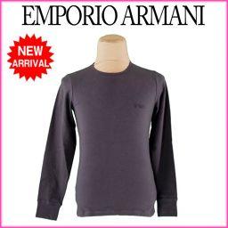 エンポリオ アルマーニ ロンT メンズ 未使用品 人気 [中古]J5686