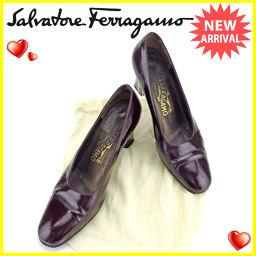 サルヴァトーレ フェラガモ Salvatore Ferragamo パンプス シューズ 靴 レディース ♯7ハー