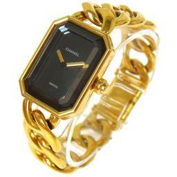 CHANEL(シャネル) プルミエール レディース腕時計 18金 ゴールド/A21602【中古】