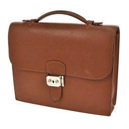 HERMES (HERMES) Suck Adeepech 27 Briefcase Vaud Gulliver Brown / T02541