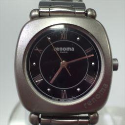 renoma レノマ 腕時計 黒 クォーツ 【中古】 腕時計 all shop NMD