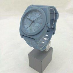 ニクソン MINIMAL(ミニマル) 青 ラバー クォーツ ボーイズ 【中古】 腕時計 all shop