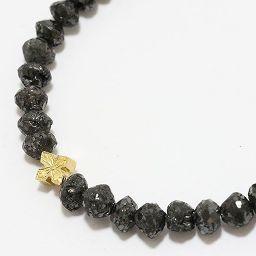 Loree Rodkin(ローリーロドキン) 連ネックレス ブラックダイヤモンド 18金イエローゴールド(K18YG) 【中古】ブランド