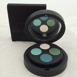 ジョルジオアルマーニ ジョルジオアルマーニ フェイスパウダー&アイシャドウ4色 アイシャドウ ホワイト・ブルー・グリー系 パウダーブロンズ系  化粧品