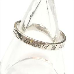 +N ノジェス シルバーリング Heart to Gold Heart to Me 9号 シルバー(SILVER) 【中古】 ジュエリー oc