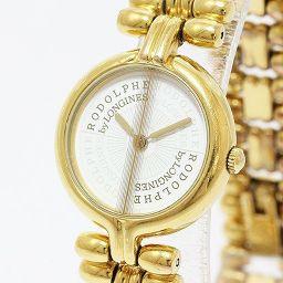 LONGINES(ロンジン) 腕時計 ロドルフ 白 ホワイト GP クオーツ レディース 【中古】 腕時計