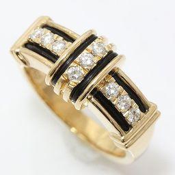 Aquascutum(アクアスキュータム) ダイヤモンド 11号 18金イエローゴールド(K18YG) 【中古】ブランド ジュエリー