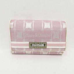 【大幅値下げ!!】Pinky&Dianne(ピンキー&ダイアン) 三つ折り財布 ピンク / 【ブランドバッグ】【中古】nb