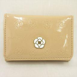 CLATHAS(クレイサス) 三つ折り財布 ベージュ / 【ブランドバッグ】【中古】nb all shop net2