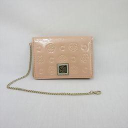 CLATHAS(クレイサス) パスケース 定期入れ カード入れ ピンク / 【ブランドバッグ】【中古】nb all shop net2