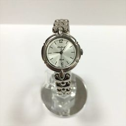 オリエント 腕時計 UB43-QO シルバー SS クォーツ レディース 【中古】 腕時計 all shop ok1