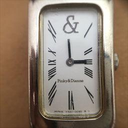 ピンキー&ダイアン 白 ステンレススチール(SS) クォーツ レディース 【中古】 腕時計 all shop hm1