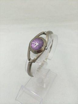 ミッシェルクラン 783444 紫 ステンレススチール(SS) クォーツ レディース 【中古】 腕時計 all shop