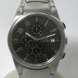 D&G TIME(ディーアンドジータイム) クロノグラフ ステンレススチール(SS) クォーツ メンズ 【中古】 腕時計 net shop