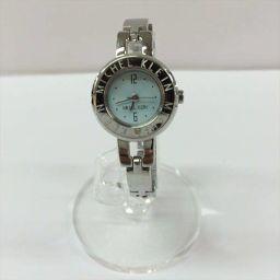 ミッシェルクラン ファション時計 水色 ステンレススチール クォーツ 【中古】 腕時計 all shop