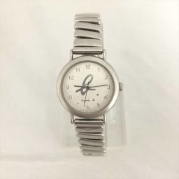 agnes b.(アニエスベー) 腕時計 V701-6210 白 クォーツ レディース 【中古】 腕時計 all shop ok1