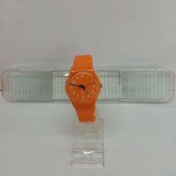 スウォッチ オレンジ ラバー クォーツ 男女兼用 【中古】 腕時計 all shop